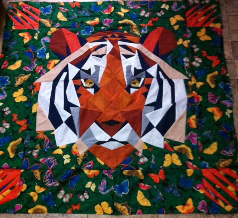 Kinder Quilt Patronen.Tiger Quilt Craftsy Quilts Animals Inspiratie
