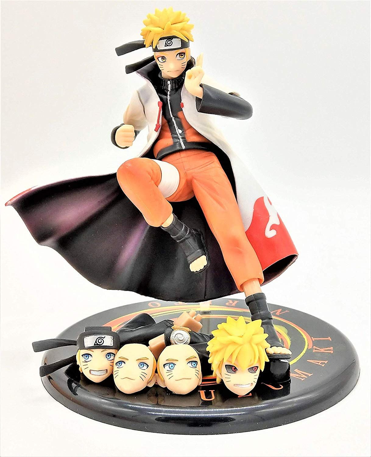 Naruto Hokage Naruto Collectible Action Figure 5 In 1 Comes With