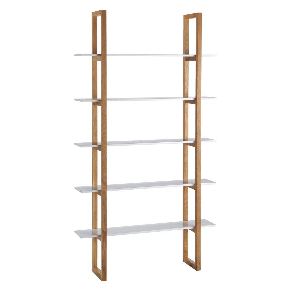 Loki White 5 Shelf Bookcase Now At Habitat Uk