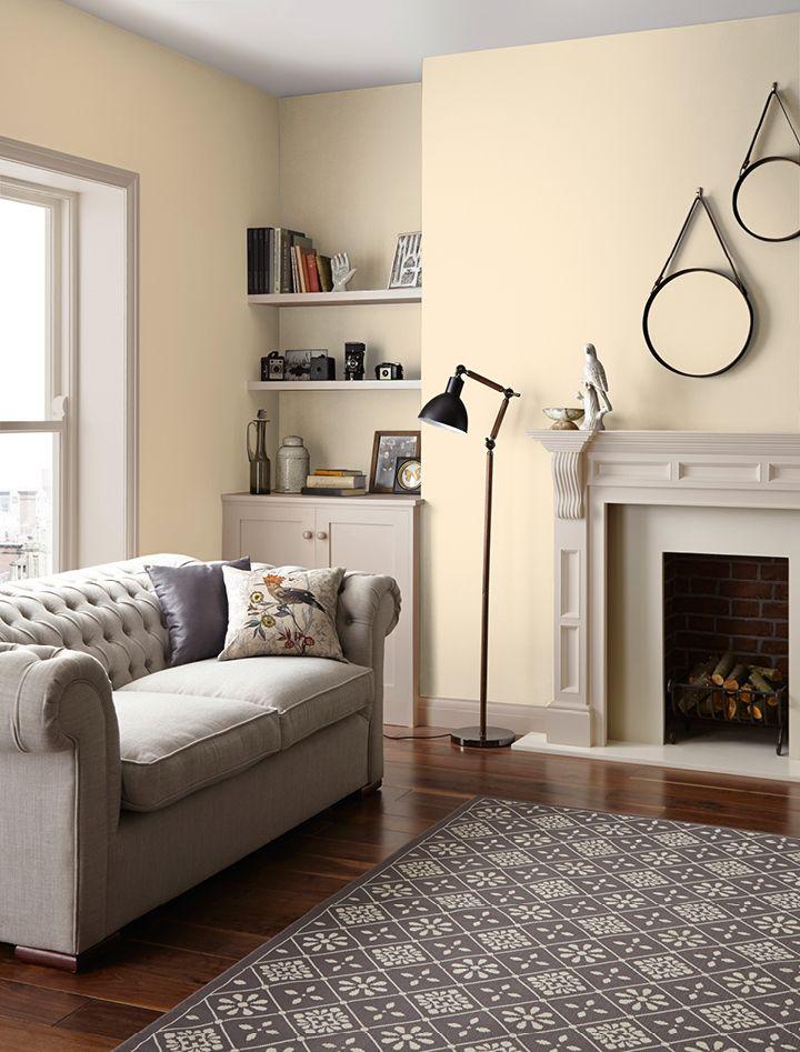 Grey And Cream Living Room Walls