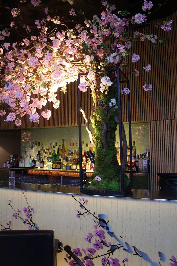 Sakura Cherry Blossom Pop Up At Sake No Hana London Japanese Restaurant Design Blossom Restaurant Cafe Design Inspiration