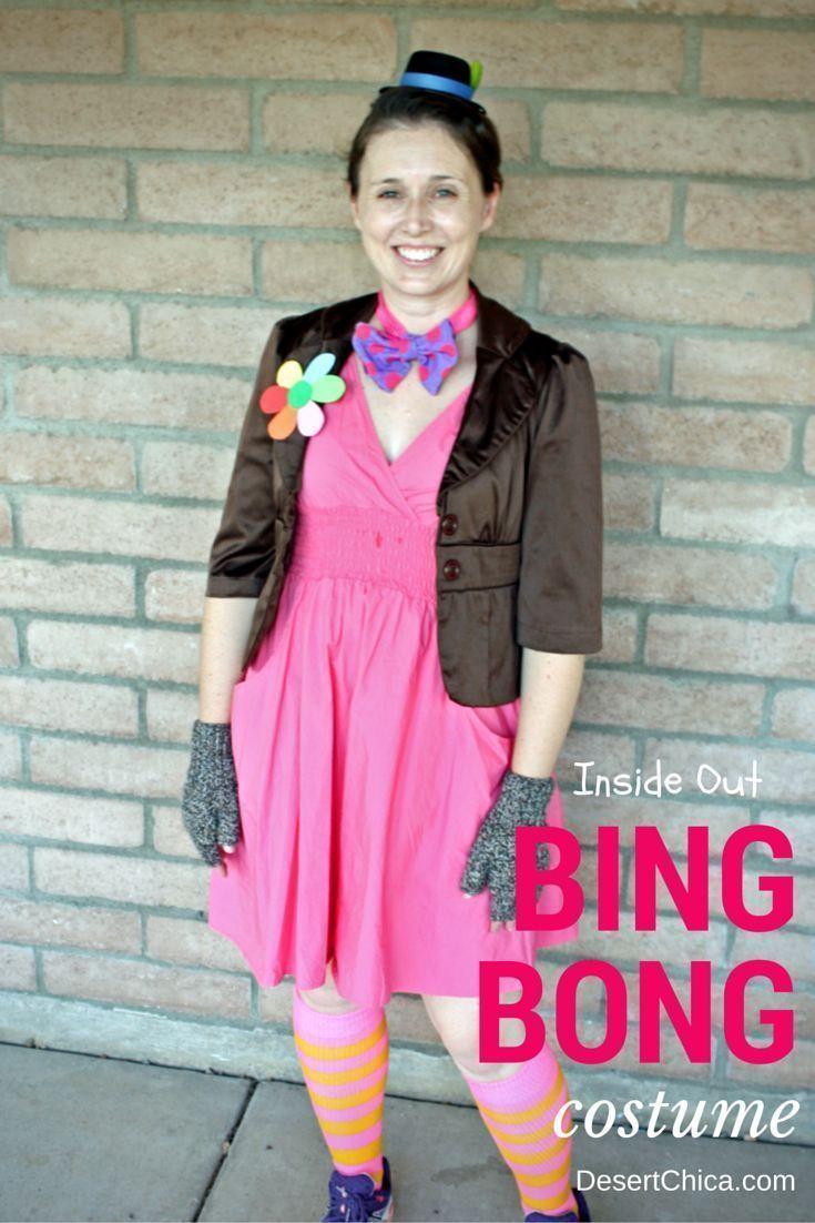 Inside Out Bing Bong Costume