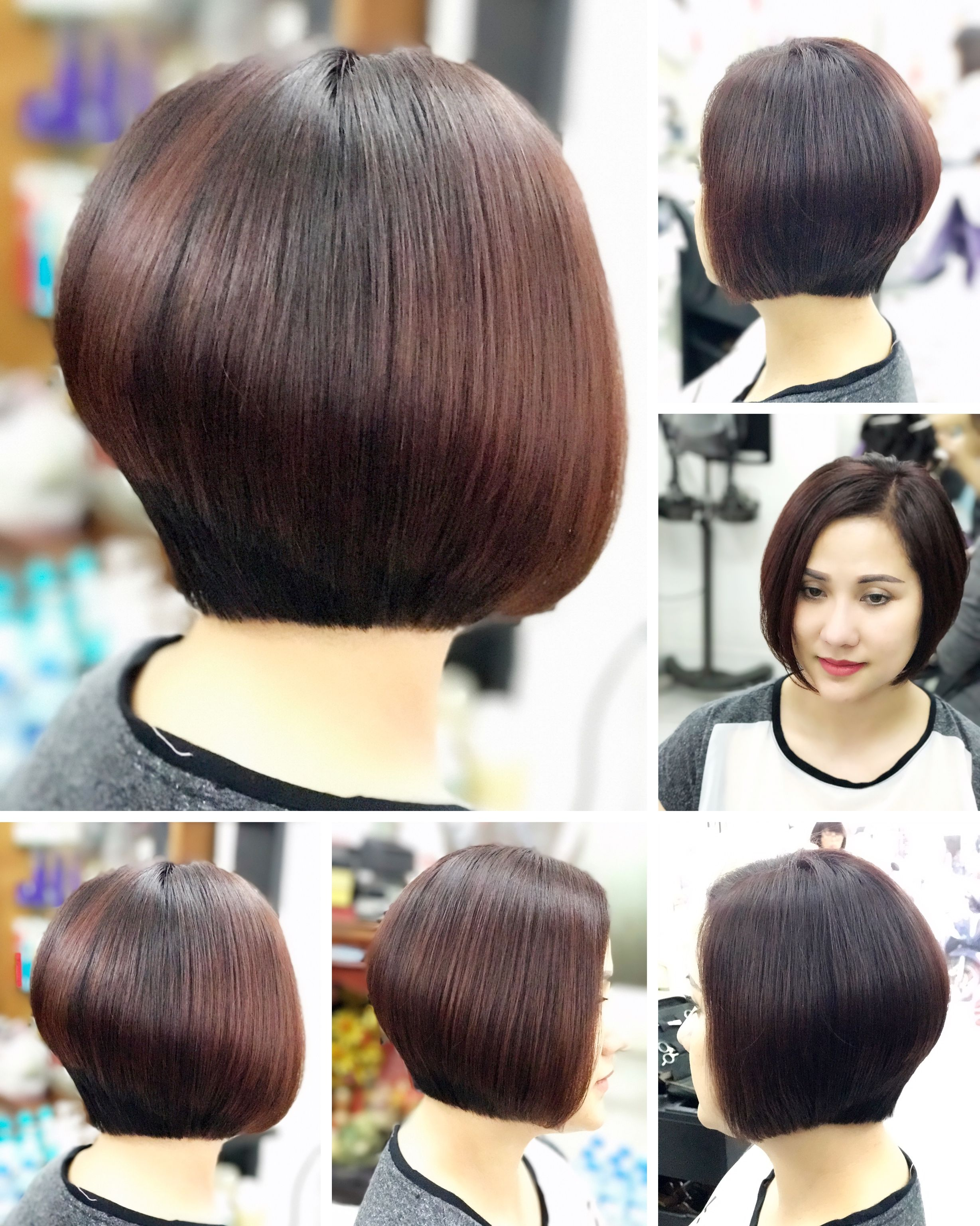 Graduation bob wonderful very short and shaved hair styles