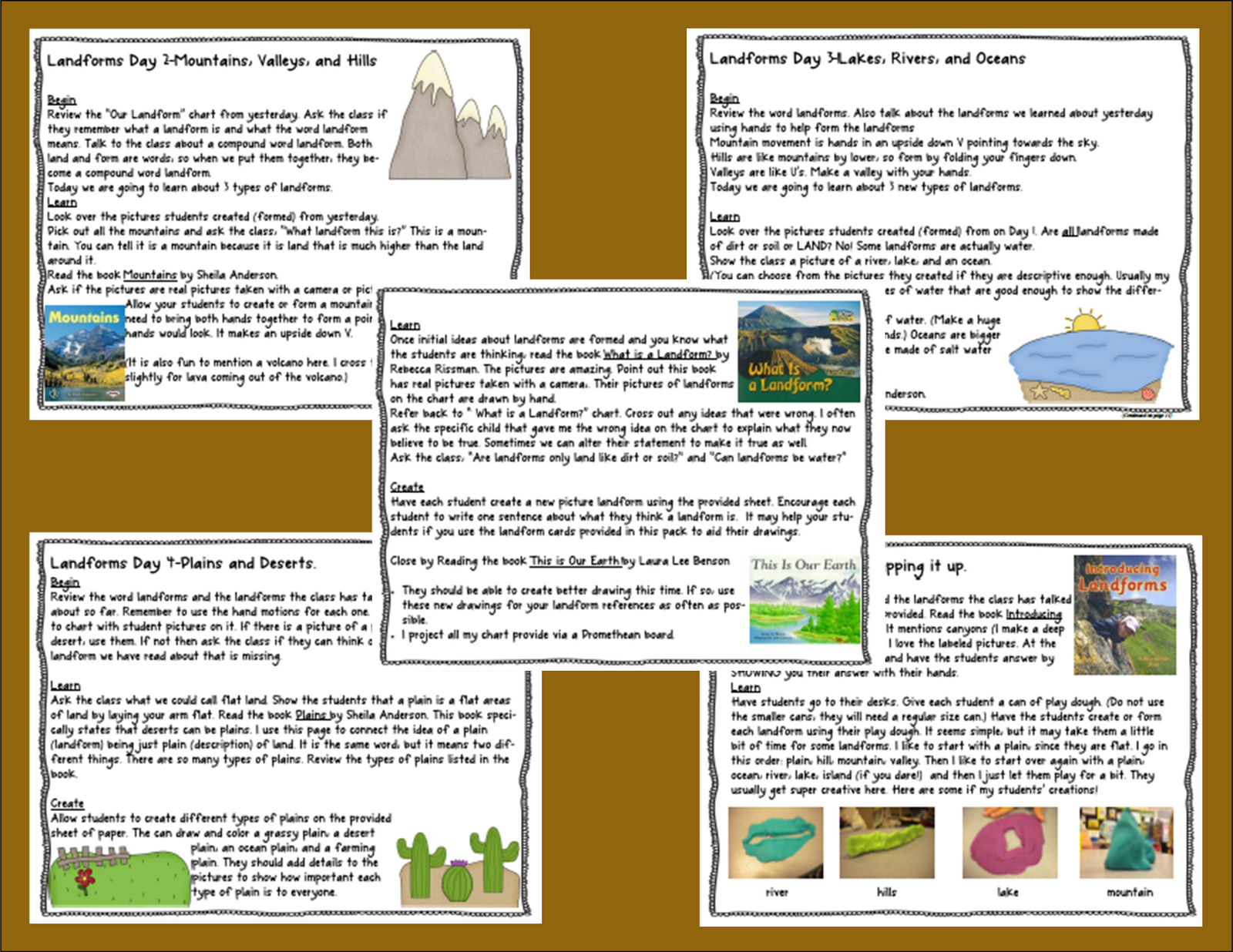 Worksheets Worksheets On Landforms foldables for science if you need to spice up your landform unit this will