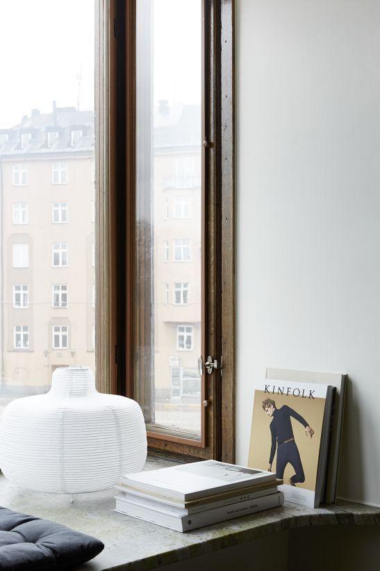 Högalidsgatan window kinfolk rislampa marmor view fantastic frank