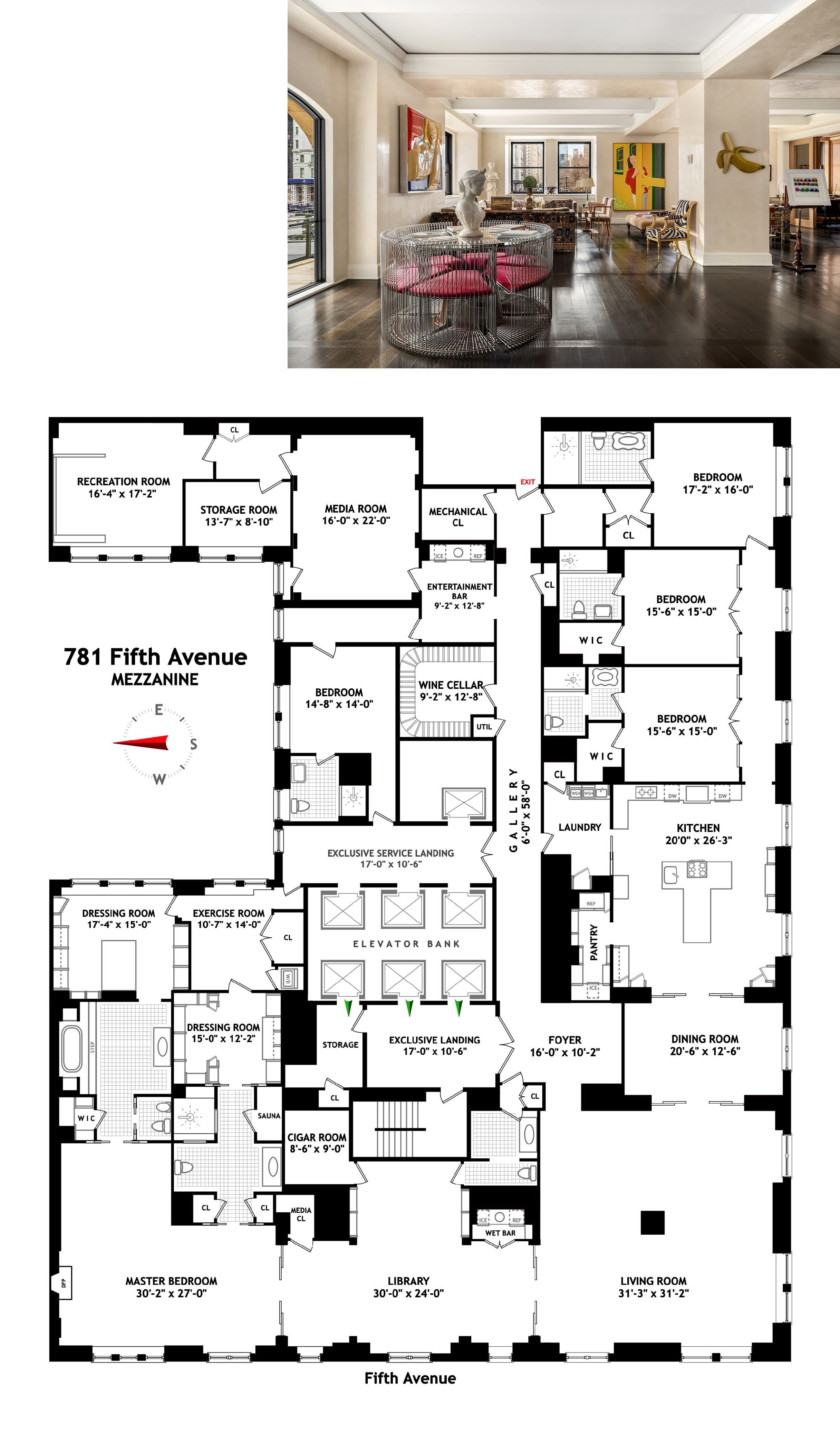 Sherry Netherland Upper East Side New York Co Op Property For Sale With 5 Bedrooms 6 In 2020 Luxury Floor Plans Apartment Floor Plans Penthouse Apartment Floor Plan
