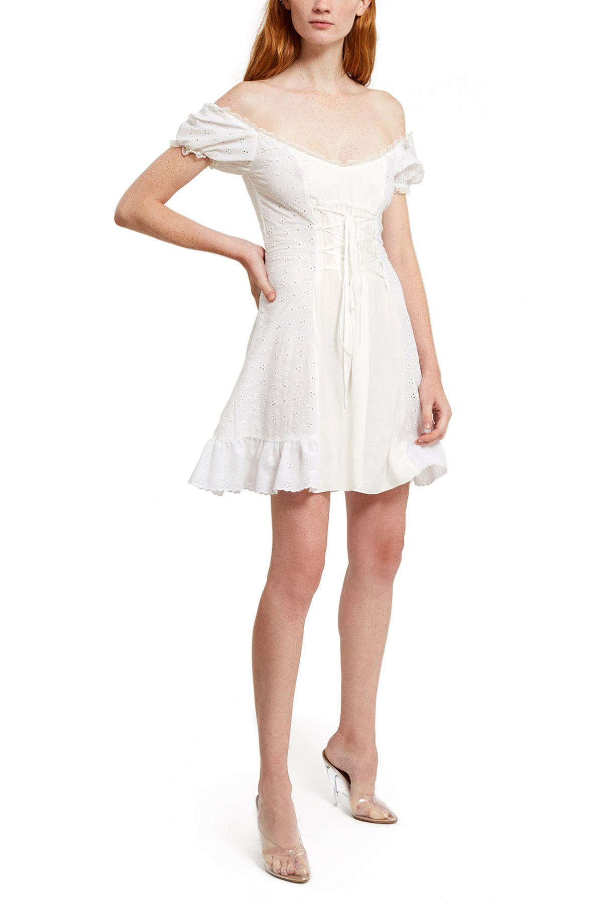 a8fc27d26ebb Daisy, Broderie Day Dress Featuring DAISY's signature cotton broderie  fabric, this off-the