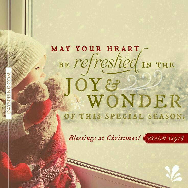 May your heart be filled with the joy and wonder of