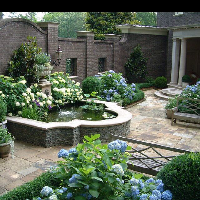 Garden Fountains, Garden Design