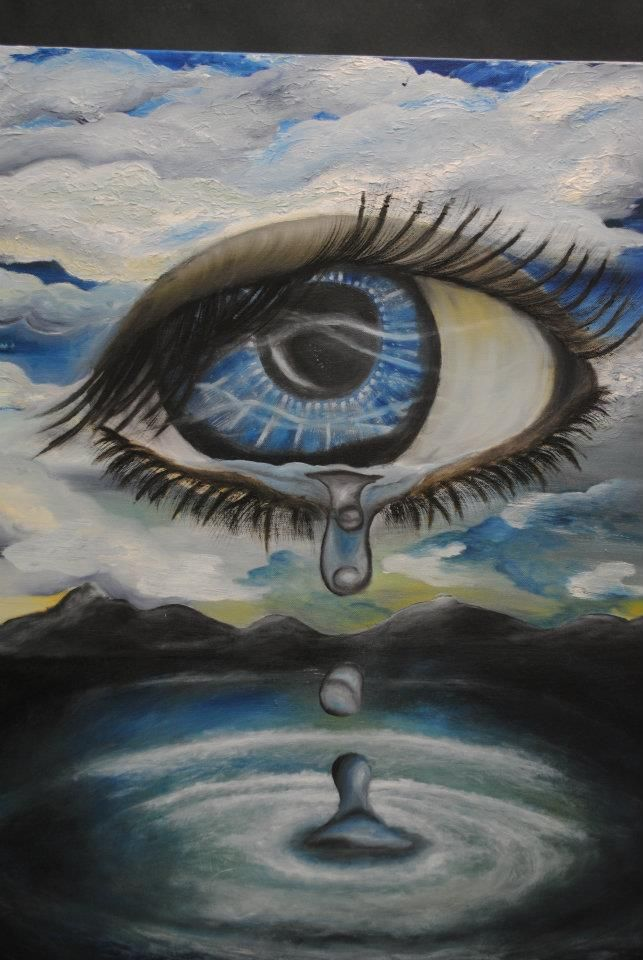 * Samm Grimaldi - - - Surrealistic eye - (013-001)
