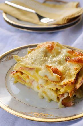 spaghetti lasagne recept