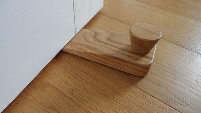 Wooden Door Stop Wedge | Door Designs Plans