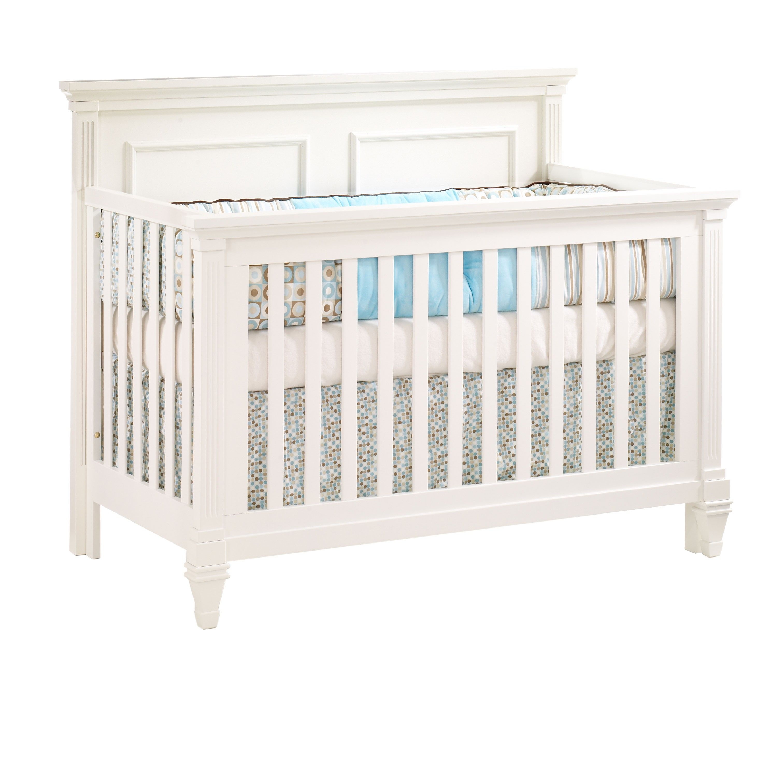 Natart Belmont ''4in1'' Convertible Crib in French White
