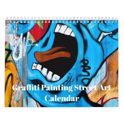 colorful graffiti painting street art 2021 calendar on home office paint colors 2021 id=27197