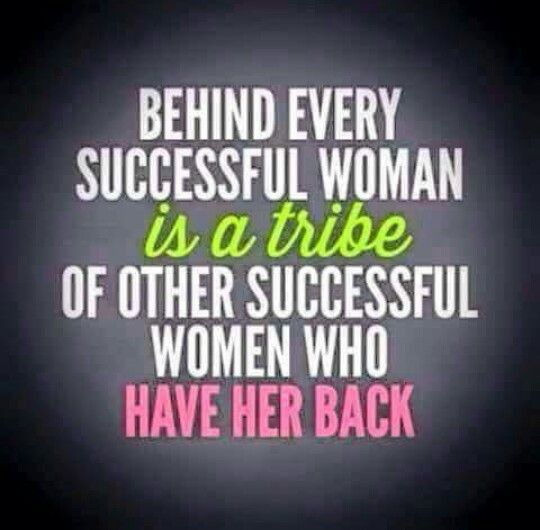 Positive Quotes For Women: Strong, Powerful Women Stick Together.