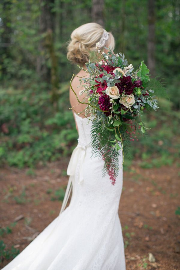 Jewel Toned Autumn Woodland Wedding Shoot | *Wedding ...