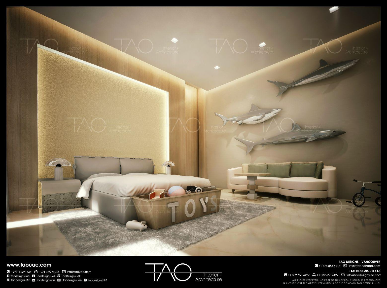 Private villa boys bedroom interior in dubai uae by for Living room ideas dubai