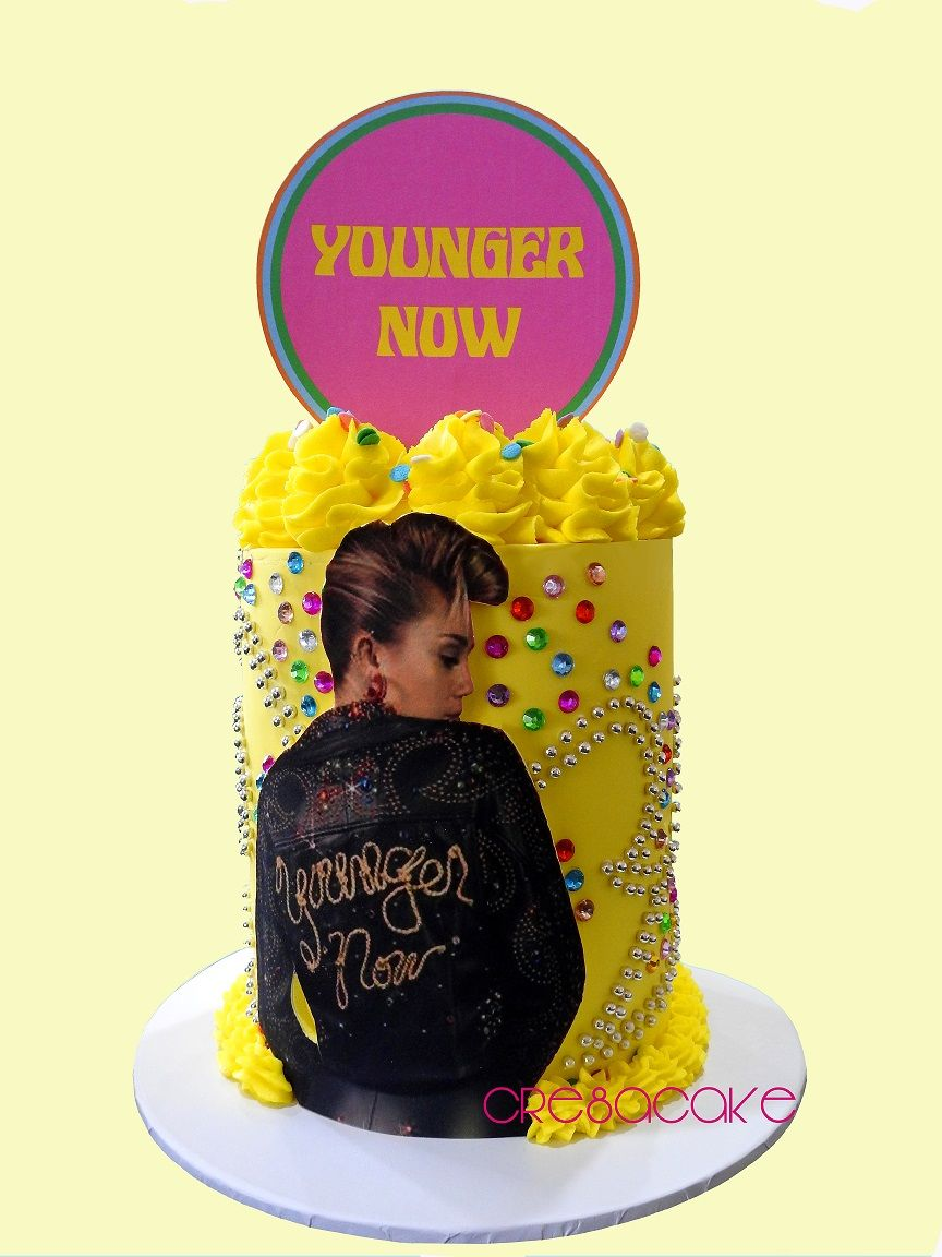 Miley Cyrus Birthday Cake Younger Now My Cakes Pinterest