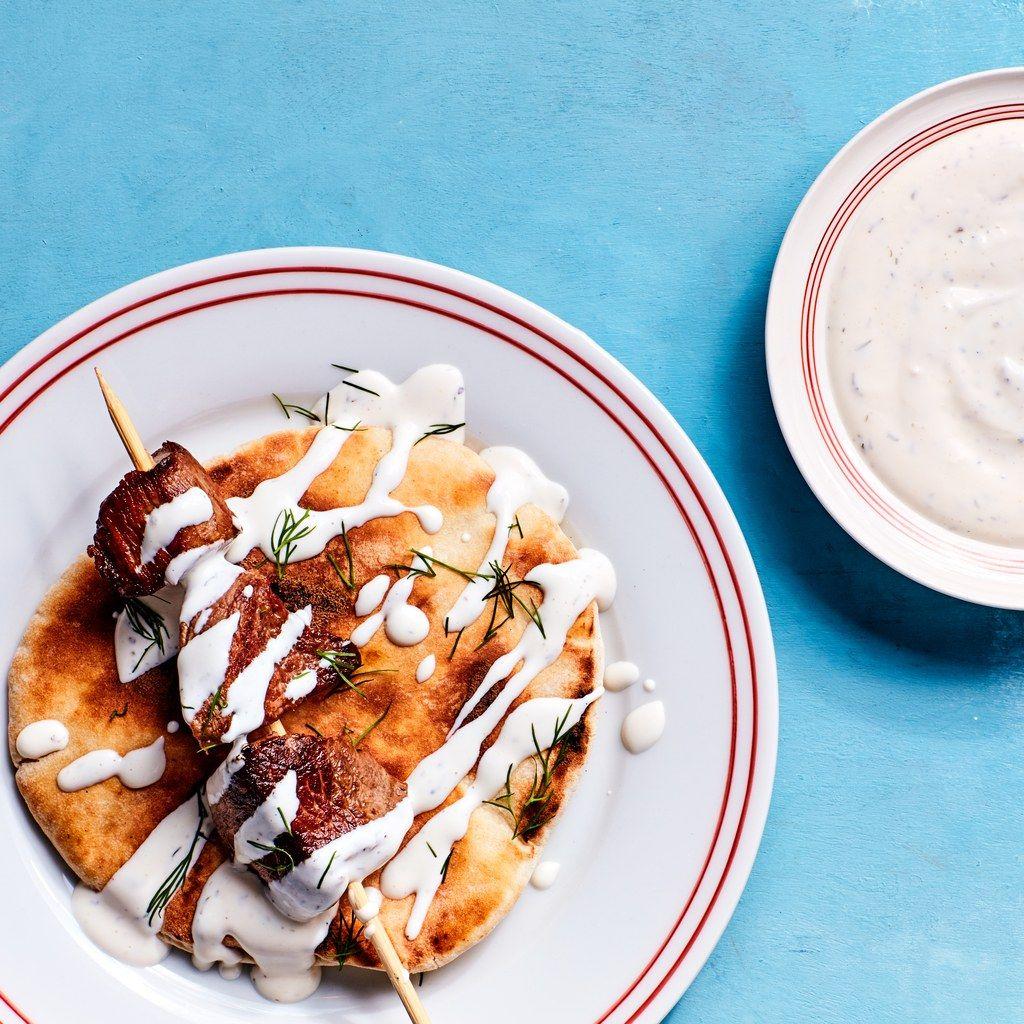 how to make white sauce halal