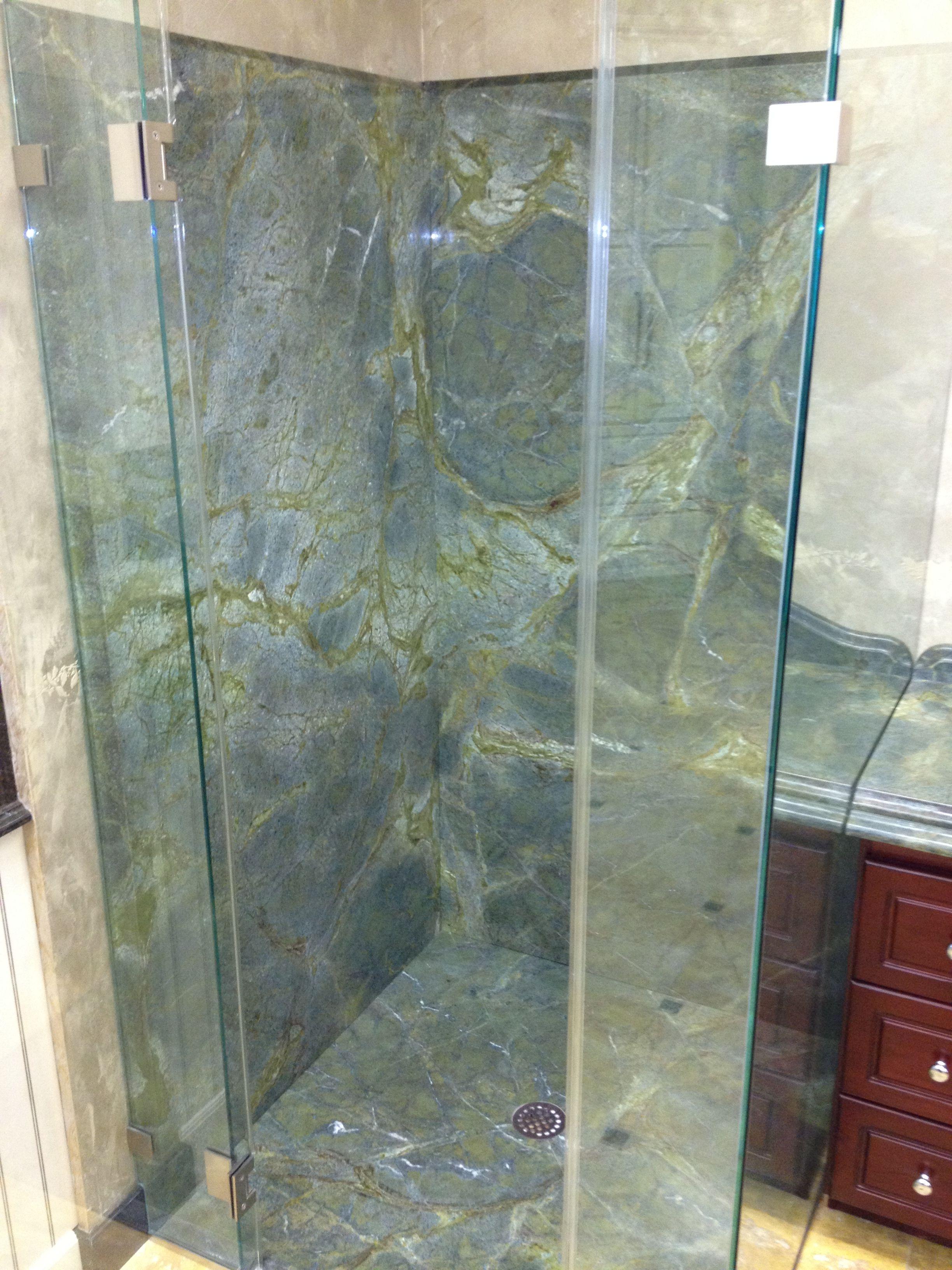 granite bathroom walls | Shower Walls | Custom Granite New Jersey ...