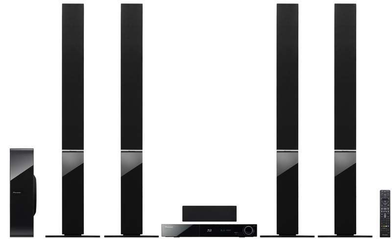 Pioneer HTZ-808BD Blu Ray Home Theater System Region Free
