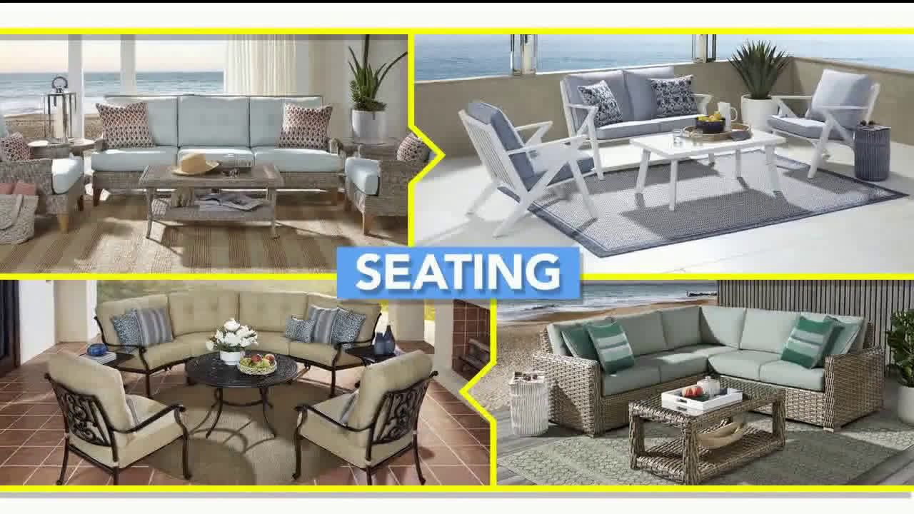 Video Rooms To Go Holiday Weekend Sale Outdoor Furniture Tv