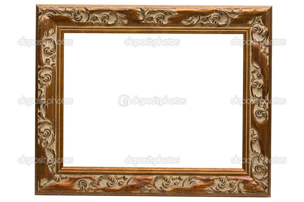 Antique Wooden Picture Frames | Antique wooden frame | Stock Photo ...