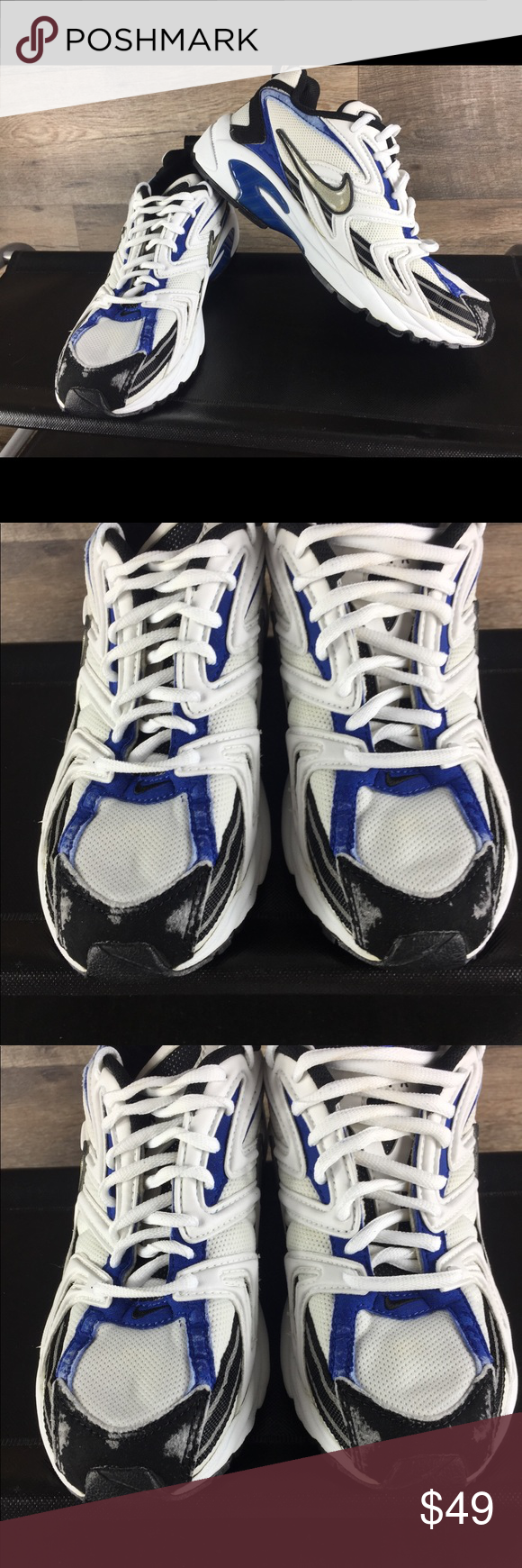 low cost b9ecc 9499e Rare Vintage Nike Air BRS 1000 Running shoes Good condition These shoes  have damage see pic Damage was caused by washing Other then that these shoes  are in ...