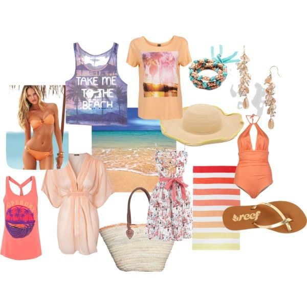 Light Spring goes on holiday by gracekellyssu on Polyvore featuring Oasis, Vero Moda, Rut m.fl., Victoria's Secret, Superdry, Basta, Reef, Nordstrom, Lulu Frost and Tracy Watts