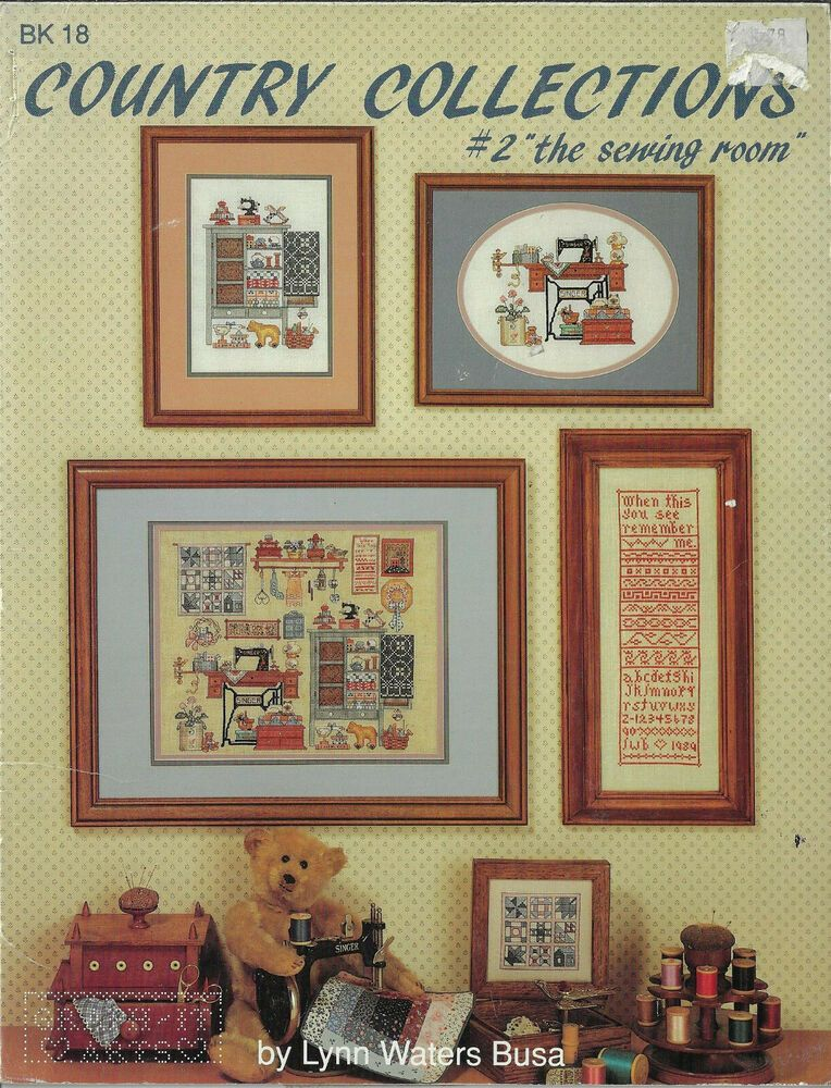 Collection of Things Country Cross Stitch DuckLeisure Arts 479