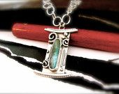 All Souls Peruvian Opal Necklace in Sterling Silver Reserved for Sandra