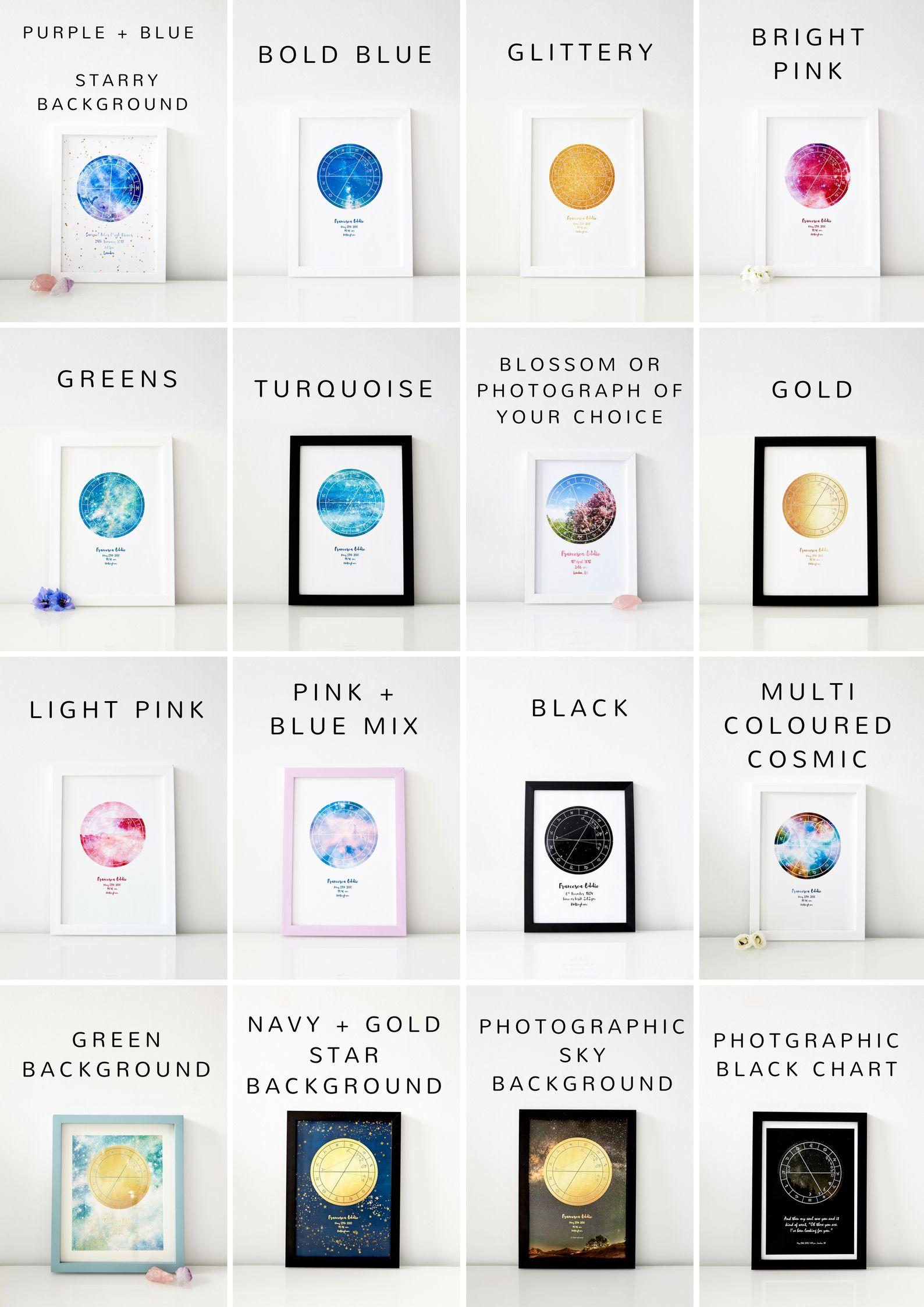 Custom Sky Map Colour Variety