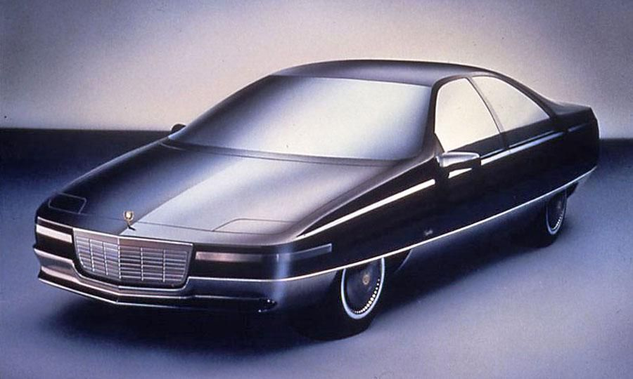 Elements of the Voyage concept would appear on Cadillacs of the early 1990s.  Photo by GM.