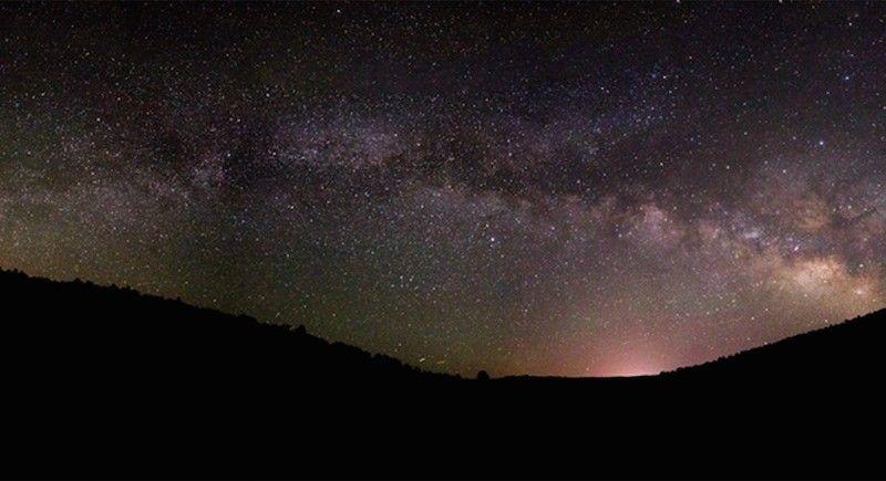 La Vía Láctea desde Utah, Estados Unidos   El Universo Hoy