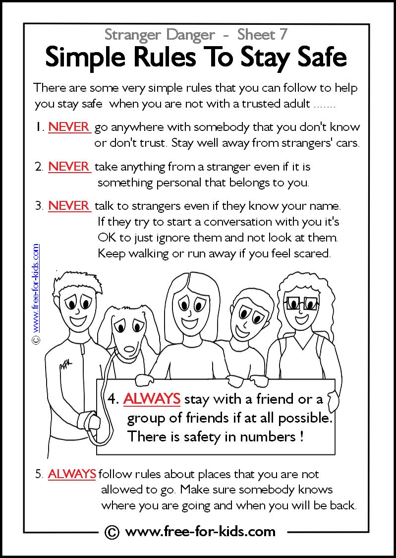 A Danger To Students With Disabilities >> Stranger safety on Pinterest | Stranger Danger, Safety and ...