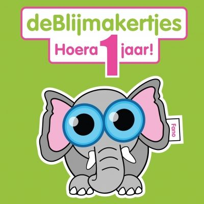 Fano - Hoera 1 jaar! (© www.blijmakertjes.nl )