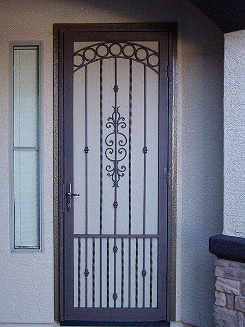 Security Door | Product Gallery | Steel Security Doors U0026 More | Arizona  Security Doors U0026 Gates