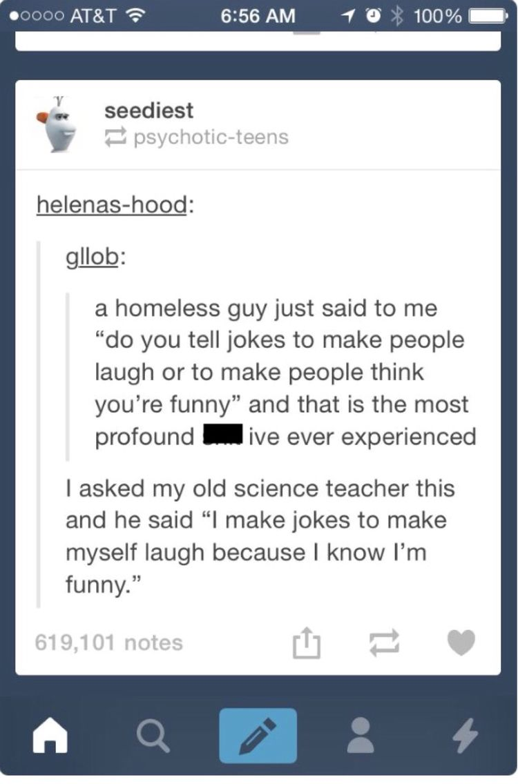 i think most of us are the science teacher
