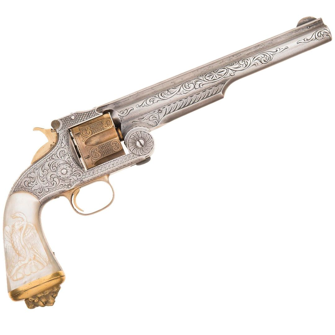Photo of Engraved Smith & Wesson No. 3 American Revolver