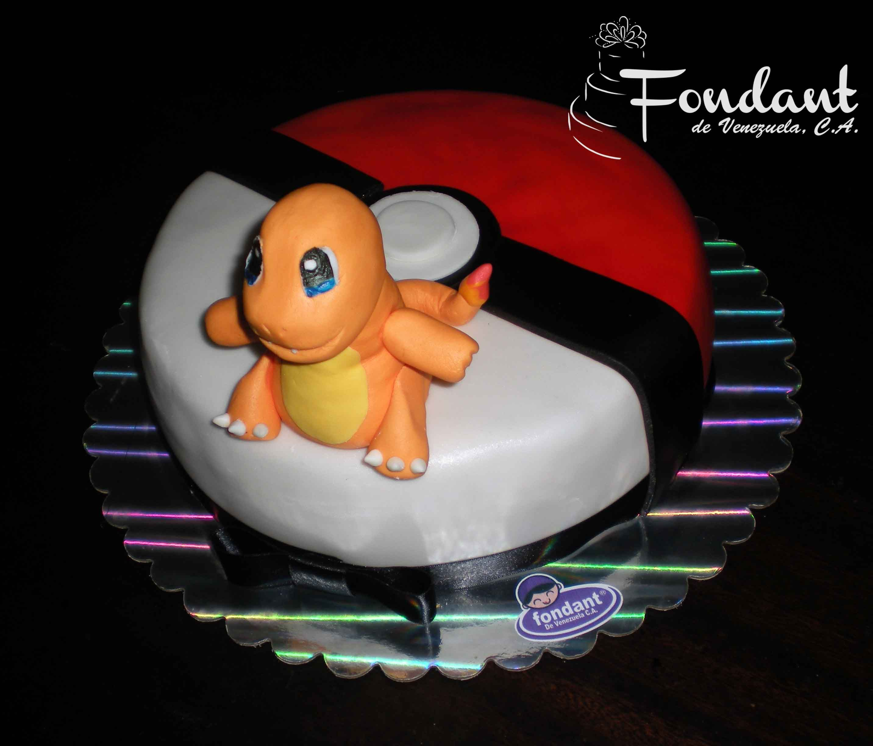 Pleasant Charmander Cake Pokemon Birthday Cake Celebration Cakes Boy Funny Birthday Cards Online Elaedamsfinfo