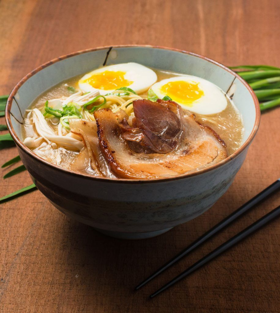 You Can Make Tonkatsu Ramen That S As The Best Ramen Joint In Town Tonkotsu Ramen Ramen Broth Food