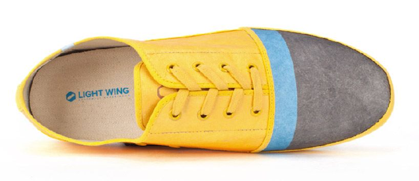 light wing tyvek paper shoes weigh 150 grams