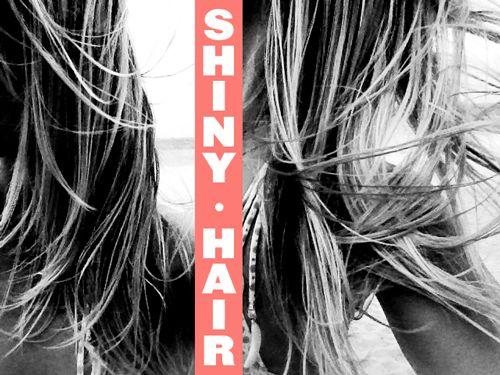 Beach Hair 101: Tricks for shiny hair   Goldfish Kiss