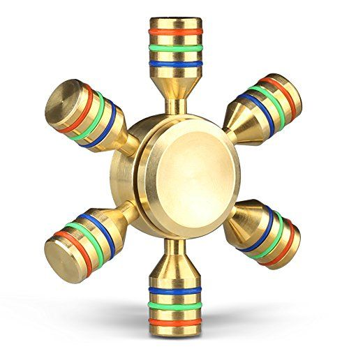 Cheap price Fid Hand Spinner Gold Mothca 2 5 Minutes Quiet and