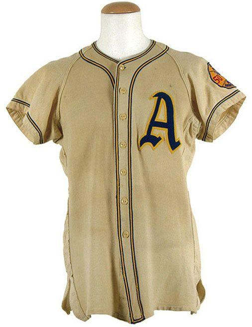 Philadelphia Athletics Jersey Photo (1950) - Philadelphia Athletics game  worn jersey from 1950 season 85d029f32db