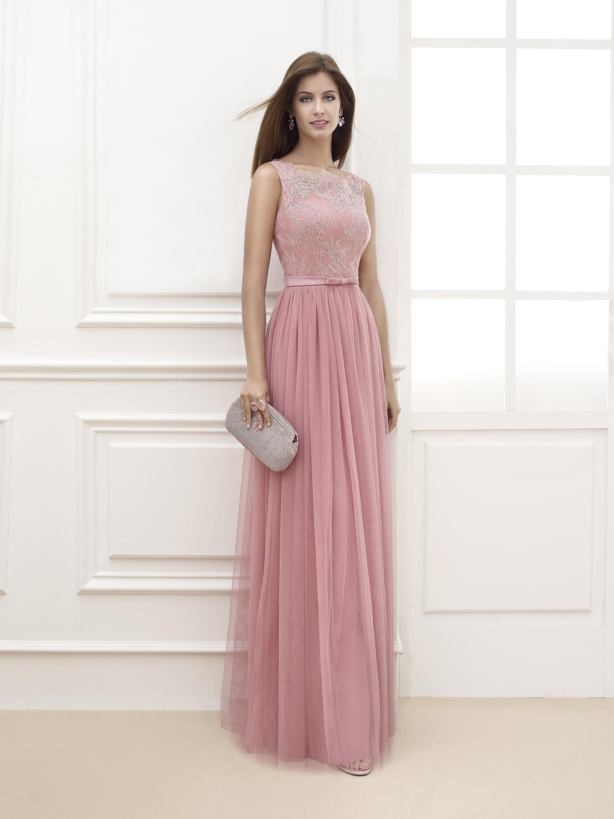 Vestido de Festa de Fara Sposa (6827), comprido   Vestidos ...