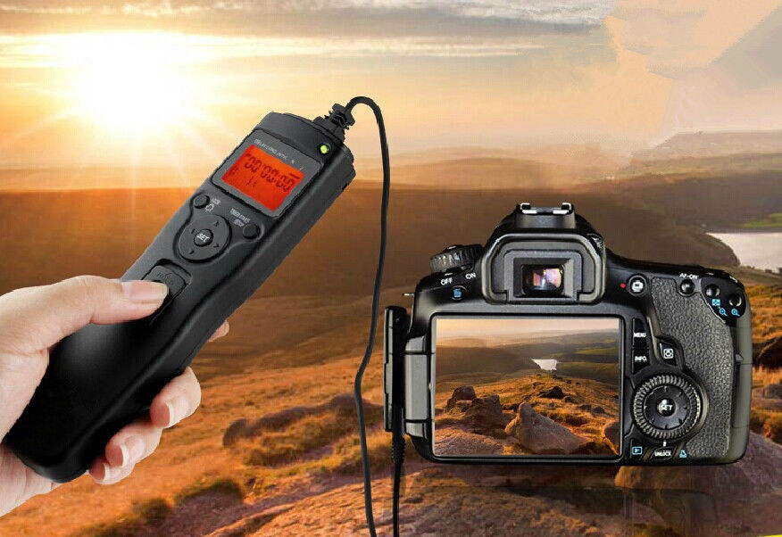 Details about Time Lapse Intervalometer Remote Timer