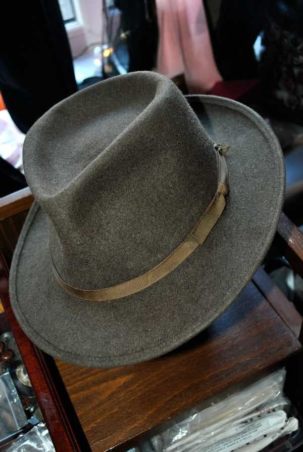 d92276ad9 Vintage Herbert Johnson #IndianaJones trilby #fedora | Hats | Fedora ...