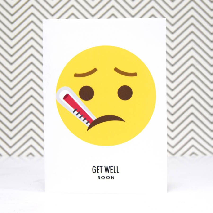 emoji get well soon card aaabaikhome pinterest get well get