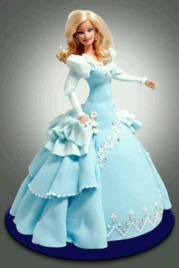 Doll cake tortas decoradas Pinterest Cake Birthday cakes and